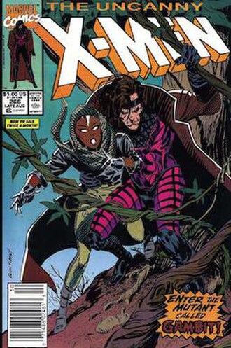 Gambit (comics) - Image: Uncanny X Men 266