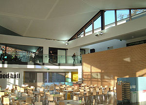 University of Winchester - The University Centre canteen