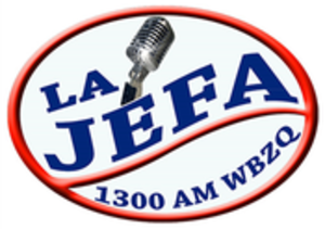 WBZQ - Image: WBZQ La Jefa 1300 logo