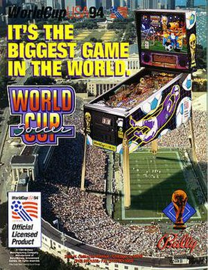 World Cup Soccer (pinball) - Image: WCS flyer