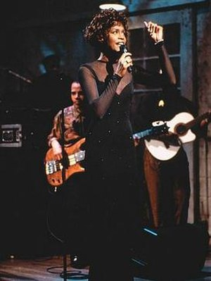 "All the Man That I Need - Houston performing ""All the Man That I Need"" on Saturday Night Live on February 23, 1991"
