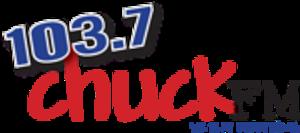 WXKT - Image: WXKT 103.7Chuck FM logo