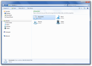 Windows Explorer in Windows 7