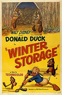 <i>Winter Storage</i> 1949 Donald Duck cartoon