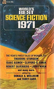 <i>Worlds Best Science Fiction: 1971</i> book by Donald A. Wollheim