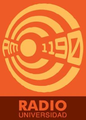 XEXQ-AM - Image: XEXQ Radio Universidad 1190 logo