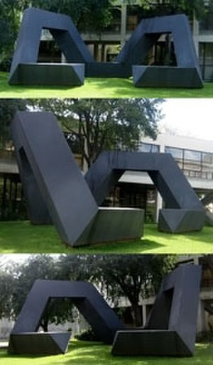 Tony Smith (sculptor) - The Fourth Sign, at the University of Hawaii at Manoa