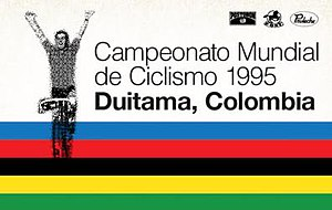 1995 UCI Road World Championships - Image: 1995 UCI Road World Championships logo