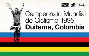 1995 UCI Road World Championships - Image: 1995 UCI Road World Championships logo