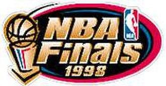 1998 NBA Finals - Image: 1998 NBA Finals