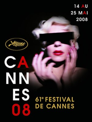2008 Cannes Film Festival - Image: 2008 Cannes Film Festival poster