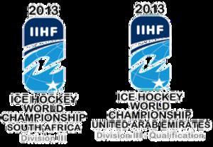 2013 IIHF World Championship Division III - Image: 2013 IIHF World Championship Division III