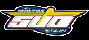 2013 Indianapolis 500 - Image: 2013indianapolis 500logo