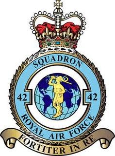 No. 42 Squadron RAF