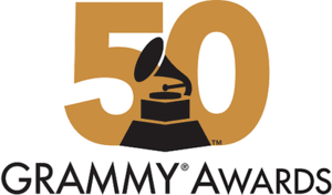 50th Annual Grammy Awards - Image: 50 Grammy Awards logo