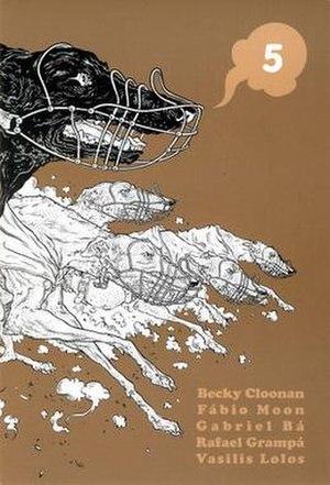 5 (comics) - Image: 5 comic cover