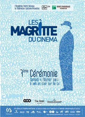 7th Magritte Awards - Official poster