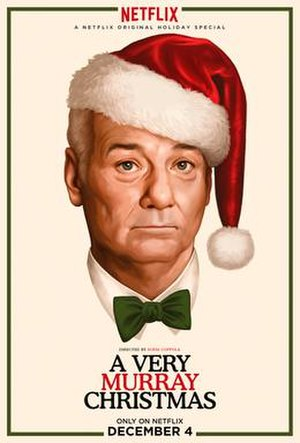 A Very Murray Christmas - Release poster