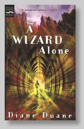 A Wizard Alone - Cover art for A Wizard Alone