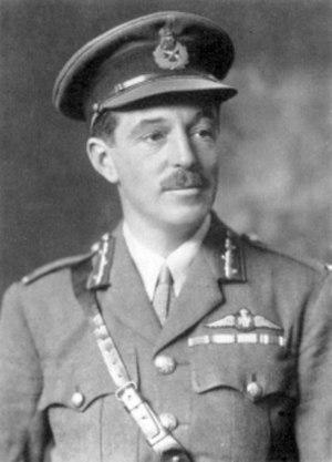 Amyas Borton - Brigadier General Amyas Borton, c.1917–18