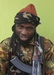Abubakar Shekau Leader of Nigerian militant group