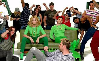 """Acapella (Karmin song) - Karmin in the Hype Williams-inspired """"Acapella"""" music video"""