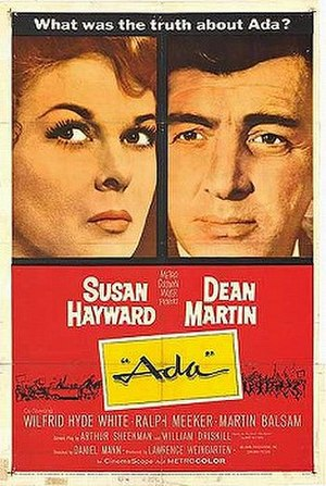 Ada (film) - Original film poster
