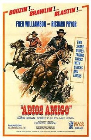 Adiós Amigo - The movie poster for the film Adiós Amigo