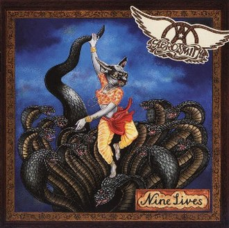 Nine Lives (Aerosmith album) - Image: Aerosmith Nine Lives (original)