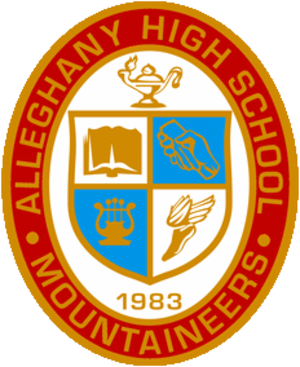 Alleghany High School (Virginia) - Image: Alleghany High School Seal