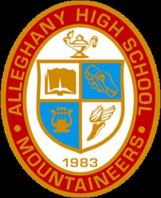 Alleghany High School (Virginia) - Image: Alleghany High School Seal