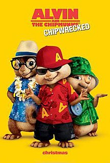 <i>Alvin and the Chipmunks: Chipwrecked</i> 2011 film by Mike Mitchell