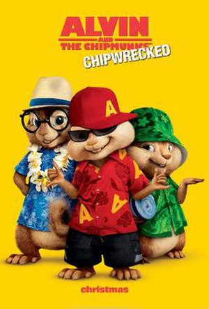 Alvin and the Chipmunks: Chipwrecked - Theatrical release poster