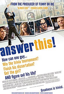 Answer This! Theatrical release poster