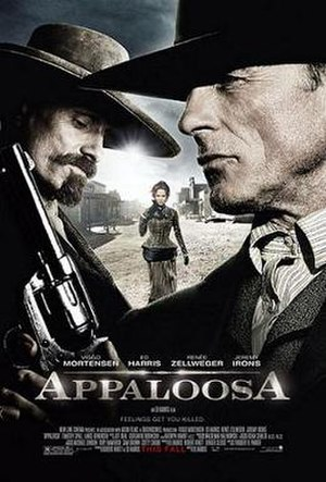 Appaloosa (film) - Theatrical release poster