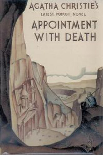 Appointment with Death - Dust-jacket illustration of the first UK edition