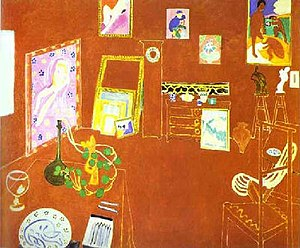 1911 in art - Henri Matisse - L'Atelier Rouge