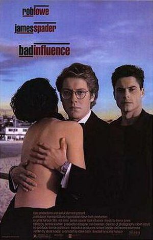 Bad Influence (film) - Theatrical release poster