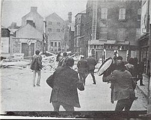 Battle of the Bogside - Image: Battle bogside 2