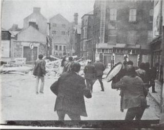 Battle of the Bogside 1969 riots in Derry (Northern Ireland)