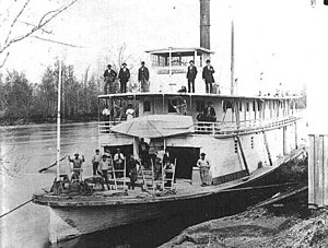 Steamboats of the Stikine River - Beaver on the Willamette River, Oregon