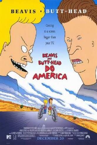 Beavis and Butt-Head Do America - Theatrical release poster