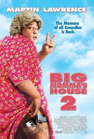 Big Momma's House 2 - Theatrical release poster