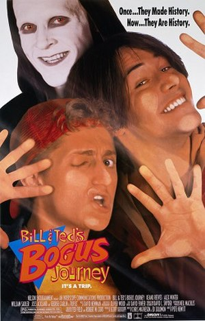 Bill & Ted's Bogus Journey - Theatrical release poster