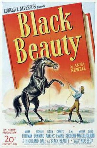 Black Beauty (1946 film) - Image: Black Beauty Film Poster