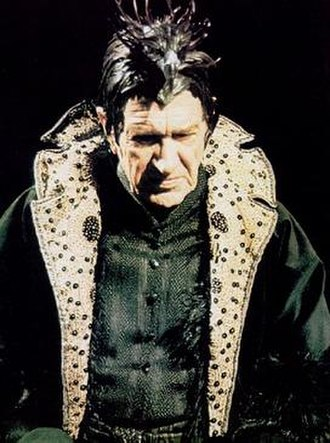 Valentine Dyall - Dyall as The Black Guardian in Doctor Who