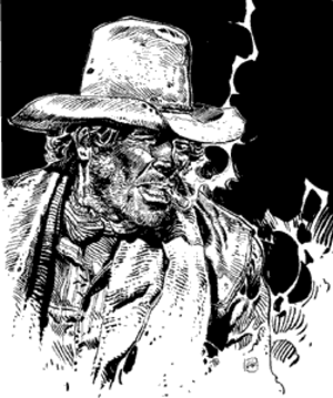 Blueberry (comics) - Blueberry as drawn by Jean Giraud