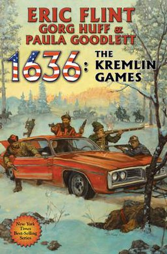 1636: The Kremlin Games - Image: Book cover 1636 The Kremlin Games