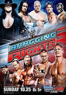 Bragging Rights (2009) 2009 World Wrestling Entertainment pay-per-view event