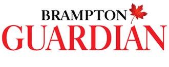 Brampton Guardian - Image: Brampton Guardian logo
